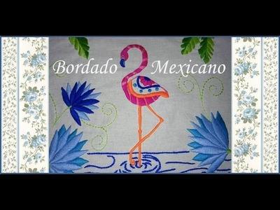 ♥ Bordado Mexicano ♥ Flamenco ♥ 2.2