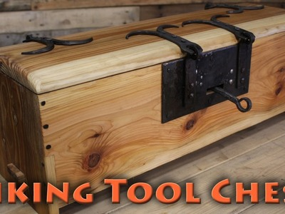 BorntoForge - Making a Viking Tool Chest pt2