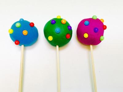 Candy Surprise Play-Doh Rainbow Lollipops Eggs
