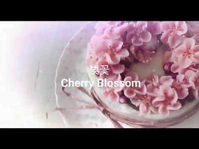 앙금플라워 벚꽃 Cherry Blossom beanpaste flower