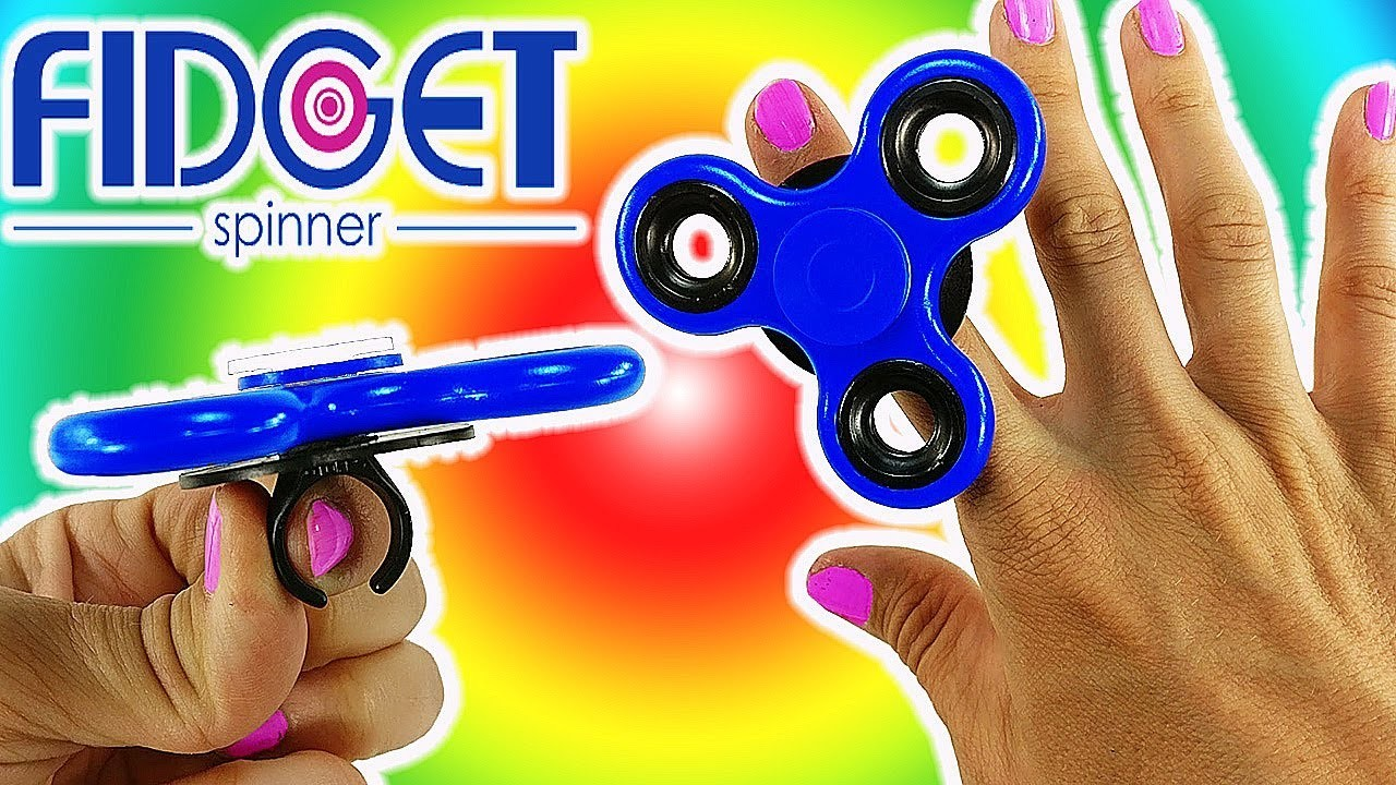 how to make an electric fidget spinner