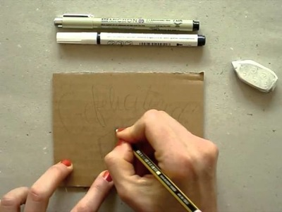 DIY Recycling Art Card