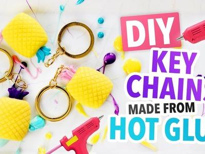 DIY Summer Key Chains made from HOT GLUE! - HGTV Handmade