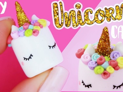 DIY UNICORN CAKE charm!! | Kawaii Friday