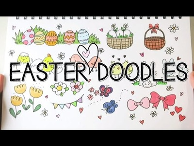 Draw Cute Easter. Spring Doodles | Doodle with Me