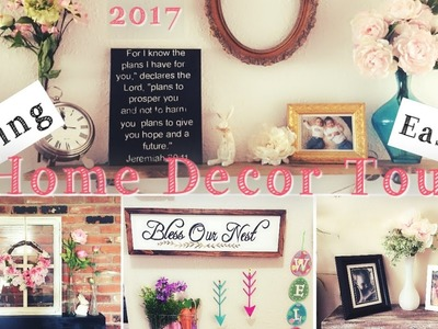 EASTER & SPRING HOME DECOR TOUR | Shabby Chic Farmhouse |Momma From Scratch