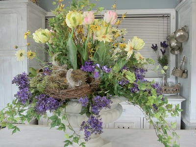 Everlasting Spring Flower Arranging Floristry Tutorial