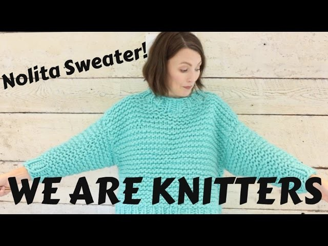 37d8060337a5ab Finished Object  We are Knitters Nolita Sweater