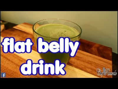 Flat Belly Diet Drink Lose Your Belly Fat in 2 week with cucumber seed drink weight loss!!