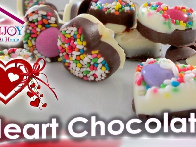 Heart Chocolate. Best Gift ever | Easy & Fast Recipe