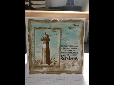 High tide card using stampin up products