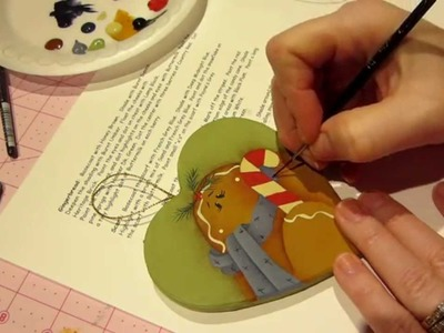 Holiday Ginger painting tutorial Part 2