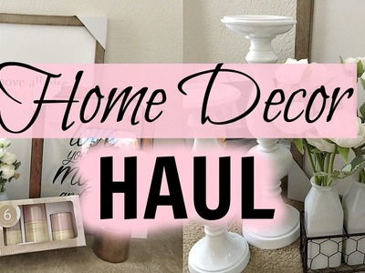 HOME DECOR HAUL 2017 | DESTINY'S LIFE