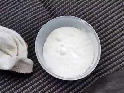 Homemade moisture absorber.damp preventer.air freshener for your car