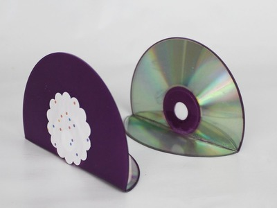 How to Bend a CD for Crafting