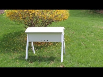 How To Build a Top Bar Beehive from start to finish by Jon Peters