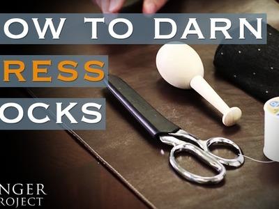How to Darn Socks