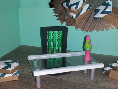 How to make a Doll Desk, Chair, and Storage Boxes