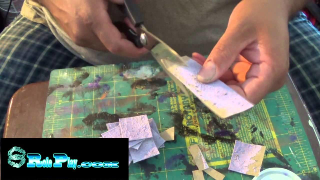 How To Make Easy 3D Stone Flooring VLOG 007