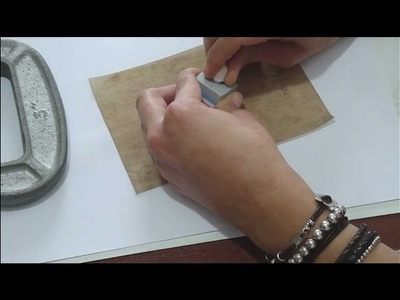How to make hinges with metal clay