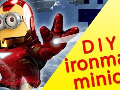 How To Make Iron Minion Playdough Toy - Disney Marvel Superhero Saves The World Toys For Children