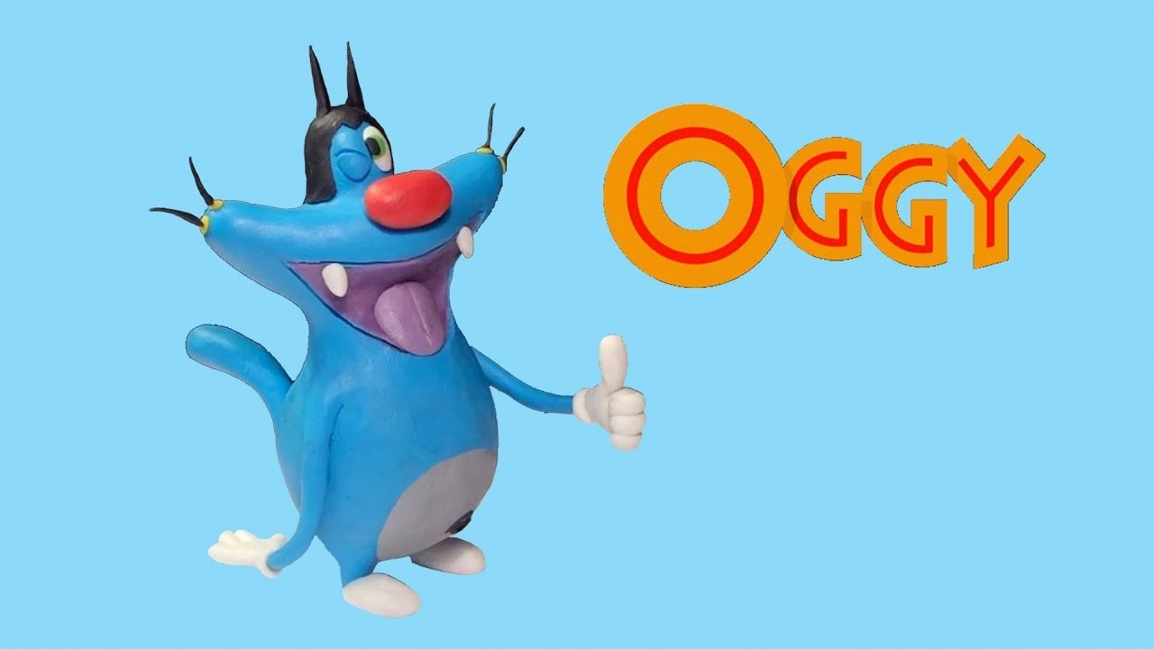How To Make Oggy Play Doh - Oggy Clay Tutorial