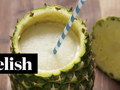 How To Make Piñeapple Coladas | Delish