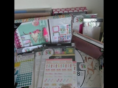 HUGE Happy Planner.Stationery Haul (Amazon, Michael's, Hobby Lobby, Target, Office Max, Dollar Tree)