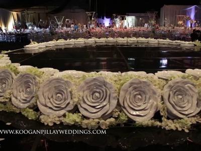 Koogan Pillay Wedding Decor Durban:  Naailah Hassam's Set