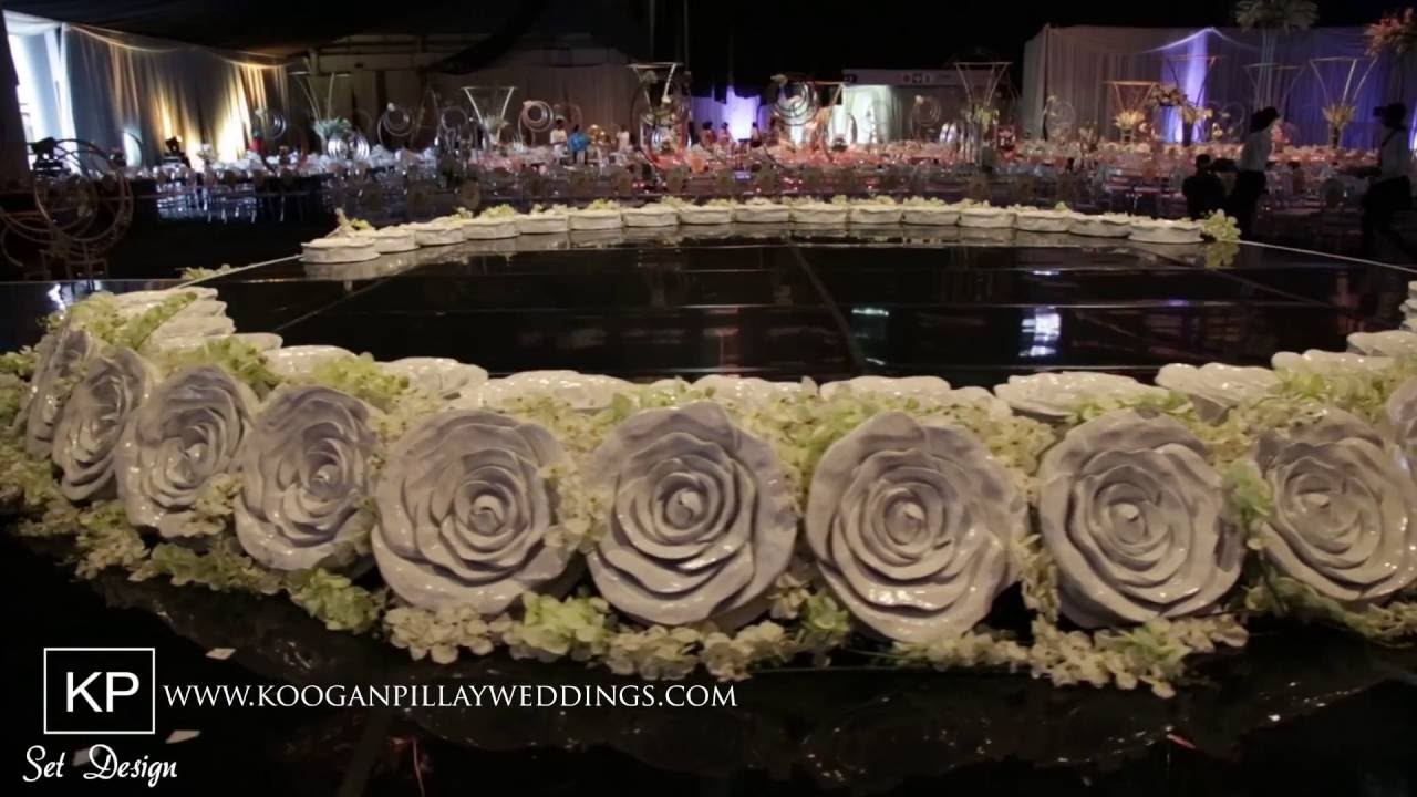 Koogan Pillay Wedding Decor Durban:  Naailah Hassam's Set