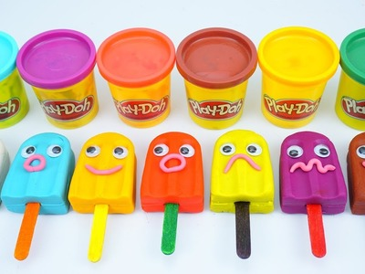 Learn Colors and Numbers with Play Doh Funny Face Ice Cream Peppa Pig Family Mold Fun Toys