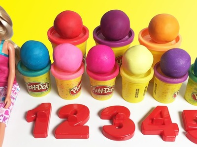 Learn To Count with PLAY DOH Numbers! 1 to 9 - Counting Numbers - Learn Numbers for Kids