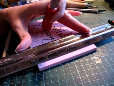 Lino carving and printing tutorial - Part 2