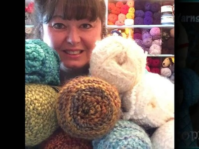 Live Video - How to Work With Boucle' Bumpy Yarns