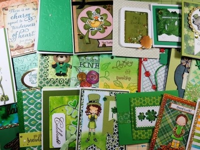 Mail Call for March 2017 | St. Patrick's, Green, or Luck Themed Cards