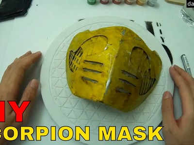 Make Scorpion Mask - Cereal or Pizza Box Prop. How to