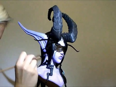 Making of Demon Hunter sculpture