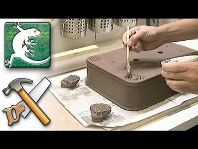 Making-of _ Rectangle bonsai pot - rounded corner