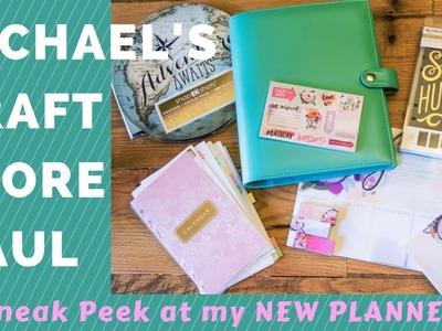 Michael's Haul   NEW Planner and other journaling goodies!