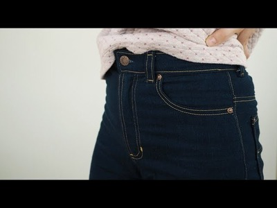 My completed Ginger jeans  - and how to attach rivets