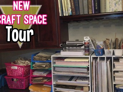 MY NEW CRAFT SPACE. TOUR   I'm A Cool Mom