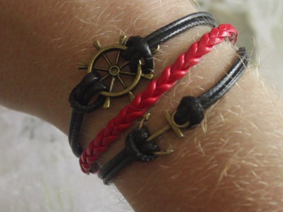 Nautical Wrap Bracelet