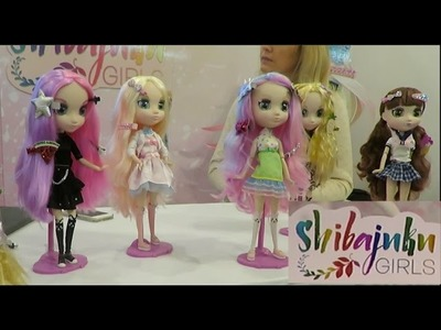 New 2016 Shibajuku Girls dolls coming to ToysRUs stores this summer Sneak Peek New York Toy Fair