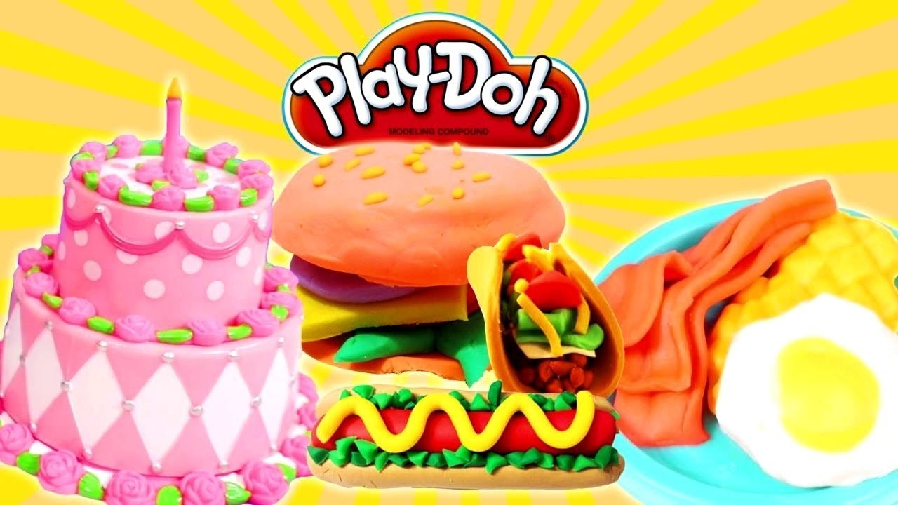 New Play Doh Video ???? Cooking Play Doh Food ???? Play Doh Cooking Playdough Creations