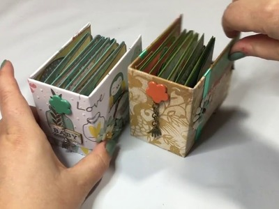 Nursery Gift: Cute Micro Album with Forest Friends