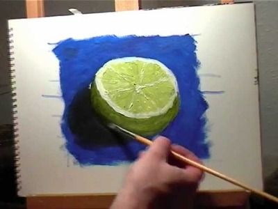 Oil Painting Lesson 2 - How to Paint a Simple Still Life