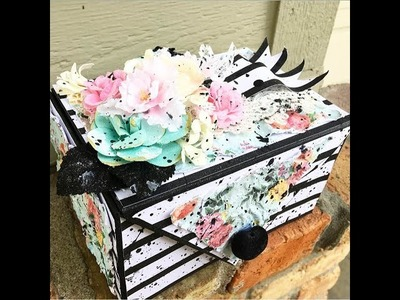 PHOTO {STORAGE} BOX TUTORIAL   KEEPSAKE BOX   EASY