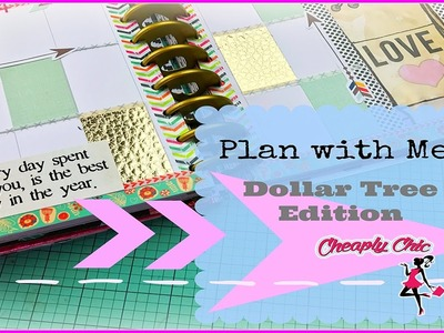 Plan with Me: Dollar Tree Edition! All things Dollar Tree, Collab with Maite Victoria!