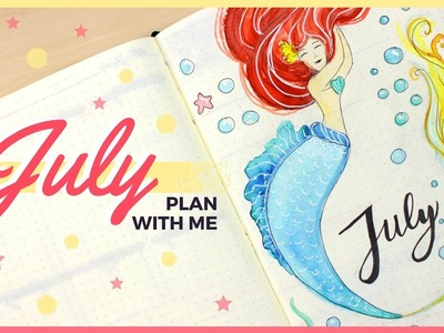 Plan With Me! | July 2017 Bullet Journal Setup Ideas & Organizing Tips