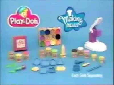 Play Doh Ad- Making Meals 2 (1998)